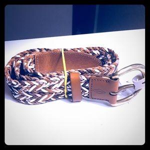 Fossil Women Weave Belt